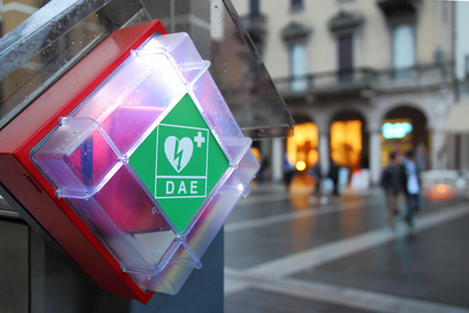 Obligation de défibrillateur en ERP